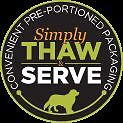 Thaw & Serve Raw Dog and Cat Food