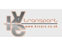 KVC TRANSPORT NEED FULL TIME PCO/MINICAB DRIVERS/2 WEEKS FREE RENT
