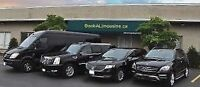 Durham's best limo airport service 289 634 6585