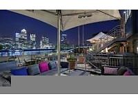New Years EVE Hilton Hotel Stay 4 Two! Riverside View Docklands! B&B! PERFECT Location