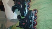 Great gift. Brand new Roller Blades. Used once. Size 9