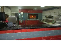 Wood fired oven takeaway business for sale.