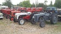 Collection of  Antique Tractors For Sale