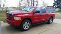 REDUCED!!!! 2002  Red Dodge Power Ram 1500 Pickup Truck