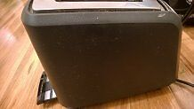 Breville matte black toaster perfect working condition