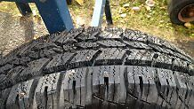 Studded Winter Tires-   245-70 R16