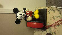 Mickey Mouse Touch Button Phone London Ontario image 1