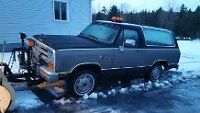 1988 Dodge RAM CHARGER PLOW TRUCK