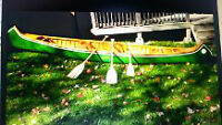 SPRING IS COMING, BE READY!!!16 ft. Indian Maiden Chestnut Canoe