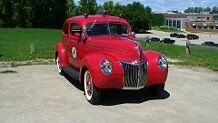 1939 Ford Fire Chief's Car