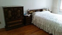 Bedroom furniture set and other items