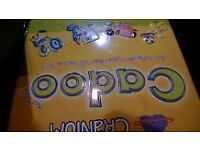 CRANIUM CADOO BOARD GAME IN A TIN FAMILY CHILDREN'S