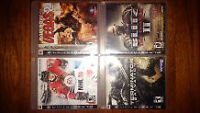 PS3 Games 5 each- or 15 for all 4