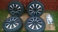 like new rims and tires for sale
