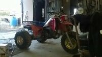 ATC 1986 honda 250R 3 wheeler for sale or trade crf450
