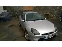 Ford Puma 1.4. £350.00. All electrics, Central Locking, in silver. Dalbeattie Area of D and G