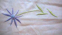 Bedding bed duvet cover white new crochet purple runner ceramic bedside table lamp £5 for all
