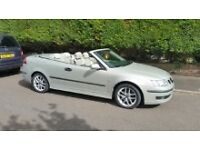 2006 SAAB 9-3 VECTOR CHAMPAGNE MATCHING FULL LEATHER