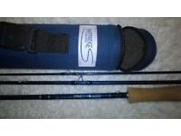 PARTRIDGE fly fishing rod top quality 9foot6inch 6rated