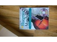 TEACH YOURSELF BLUEGRASS MANDOLIN BOOK SHEET MUSIC 🎶 & carry box