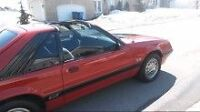 1986 Ford Mustang Coupé (2 portes)