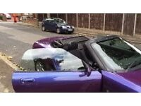 Mgf convertible stunning all round condition beautiful car mot £695
