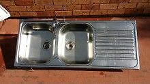 Stainless Steel Double Sink Horsley Park Fairfield Area Preview
