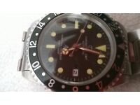 chronotac militery watch perpetual calender 200m w/p
