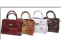 10 new Handbags in assorted colours