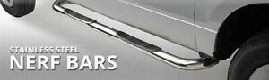 SIDEBARS STAINLESS STEEL FOR DODGE RAM CREW CAB 2009-2015 *NEW*