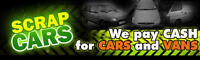 OPEN TODAY CASH FOR SCRAP CARS /CALL OR TEXT US FOR A FAST QUOTE