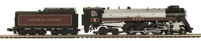 Canadian Pacific Steam Engine - O-Gauge - MTH - Canadian Pacific 4-6-4 Royal Hudson Steam Engine #2851