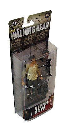 The Walking Dead Series 5 - Glenn Rhee 12,5 cm Figur McFarlane13+ - Neu