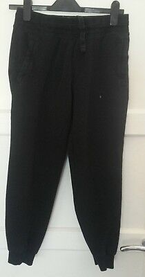 black size small  jogging bottoms