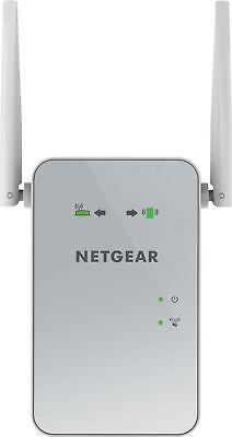 Netgear - Ac1200 Dual-band Gigabit Wi-fi Range Extender - Wh