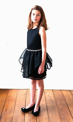 NWT Gorgeous David Charles, London Black Special Occasion  Dress Size 13 $200 RV