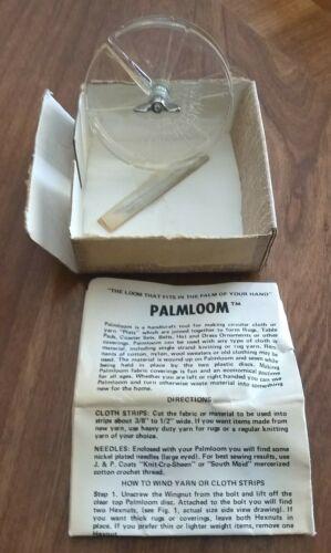 Vintage Palmloom Loom Tool In Box Missing Lid 1974