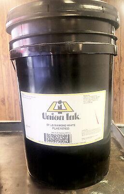Union Ink Ef Low Bleed Diamond White 5 Gallon Pail Plhe1070-5gal