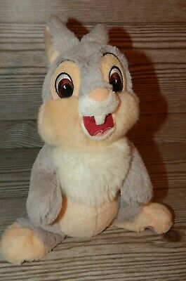 "Disney Authentic Original Disney Parks Thumper Plush Stuffed Animal Toy 9"" Soft"