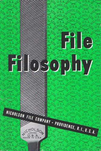 File Filosophy and How to Get the Most Out of Files 1943