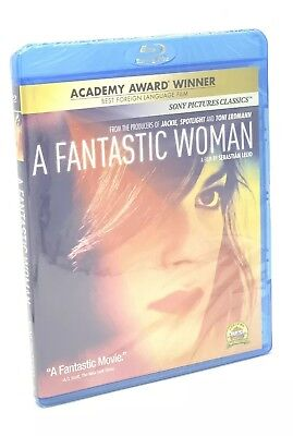 Fantastic Woman, A (Blu-ray Disc, 2018) NEW  Oscaw Winner- Best Foreign