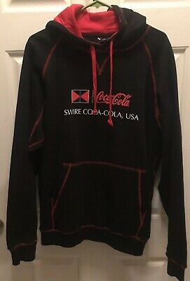 Swire Coca Cola  Hooded Sweatshirt Black Large