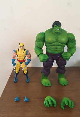 Marvel Legends 80th Anniversary 6 Inch Wolverine and Hulk Loose Action Figures