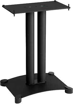 "Sanus SFC22-B1 Steel Series 22"" Speaker Stand for Center Cha"