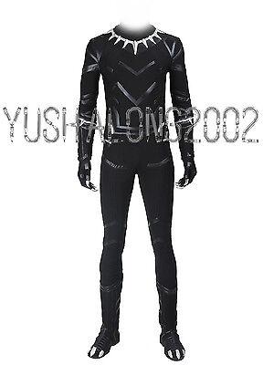 Captain America 3 Civil War T'Challa Black Panther - Black Panther Captain America Civil War Kostüm