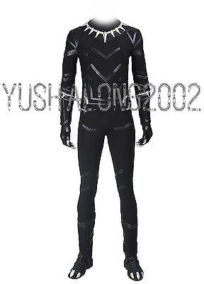 Captain America 3 Civil War T'Challa Black Panther cosplay Kostüme Halloween