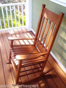ROCKING-CHAIR-Paper-Plans-EASY-DIY-PATTERNS-Build-For-Front-Porch-Like ...