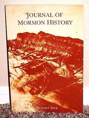 JOURNAL OF MORMON HISTORY VOL. 36 NO. 3 2010 SUMMER MORMON PB WAGON BOX PROPHECY ()