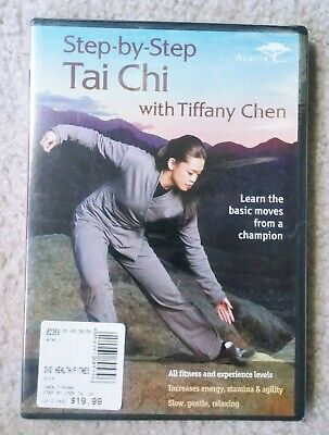 NEW Step-by-Step Tai Chi with Tiffany Chen (DVD, 2008)