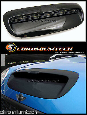 01-06 MINI R52 R53 Cooper S Hatch/Convertible BLACK Bonnet Air Intake Vent Scoop